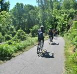 Paseo en bici hacia Mount Vernon